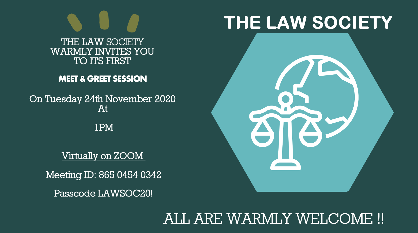 Law Society Meet and Greet