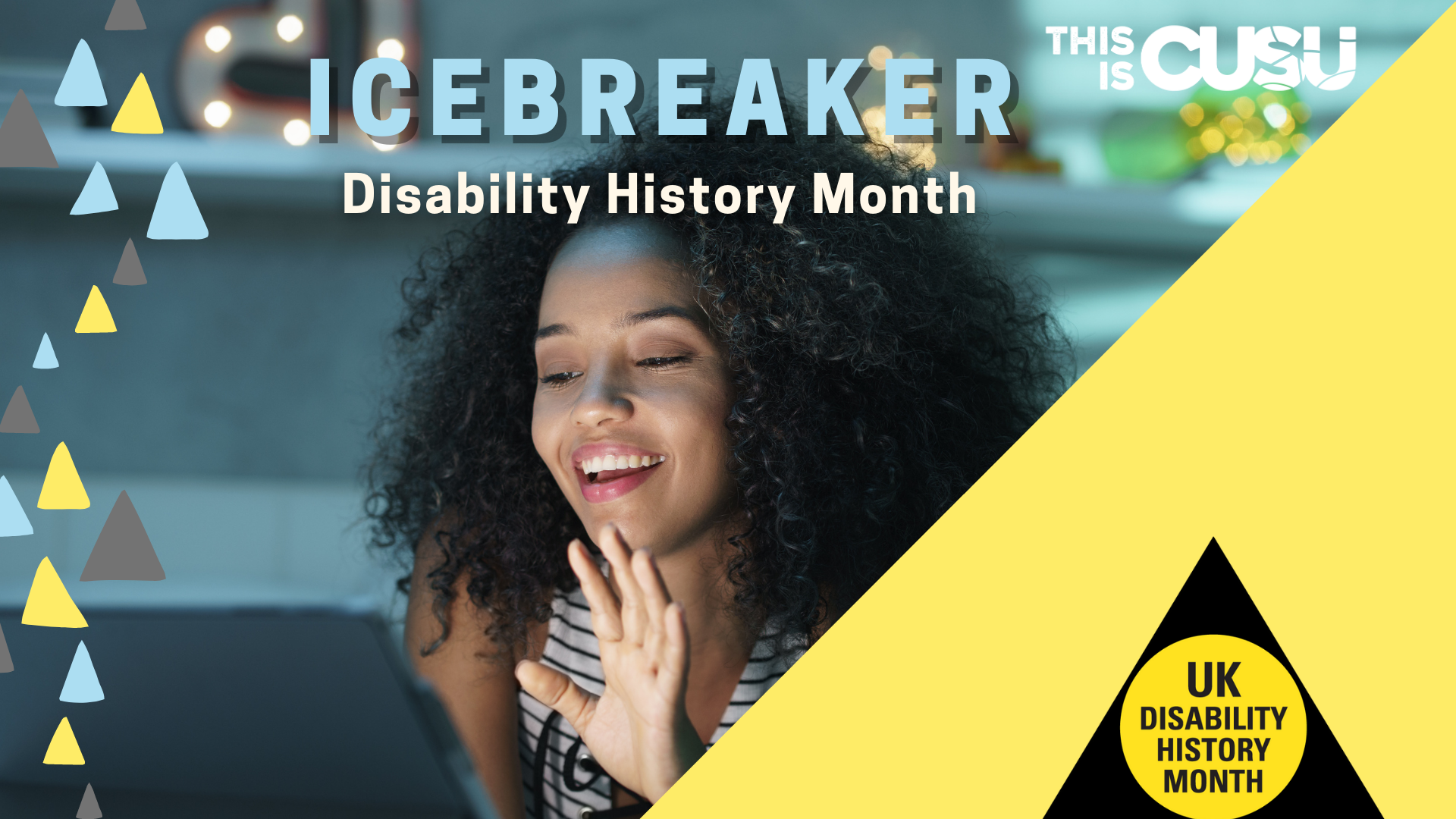 Disability History Month Cont. Icebreaker